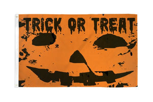 Trick or Treat Flag 3x5 Poly