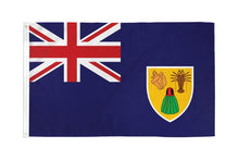 Load image into Gallery viewer, Turks & Caicos 3x5ft Poly Flag