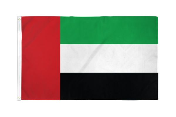 United Arab Emirates 3x5ft Poly Flag