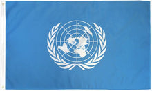 Load image into Gallery viewer, United Nations 3x5ft Poly Flag