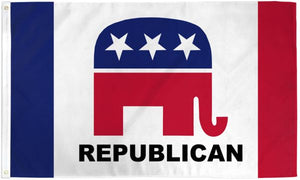 Republican Party 3x5ft Poly Flag