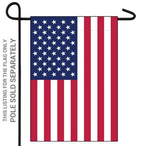 USA 12x18in Garden Flag