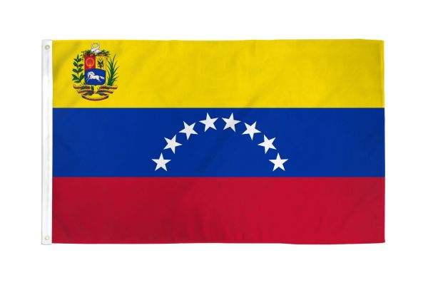 Venezuela 3x5ft Poly Flag