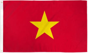 Vietnam 3x5ft Poly Flag
