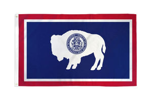 Wyoming 3x5ft Poly Flag