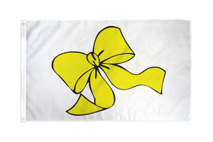 Yellow Ribbon 3x5ft Poly Flag