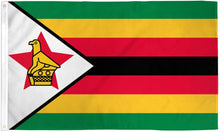 Load image into Gallery viewer, Zimbabwe 3x5ft Poly Flag