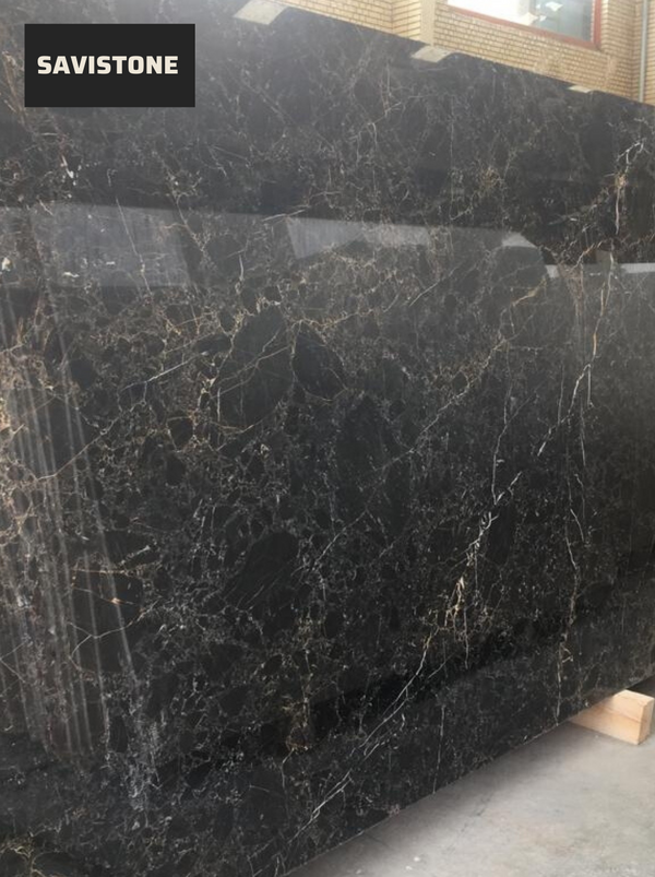 Gold Black Granite