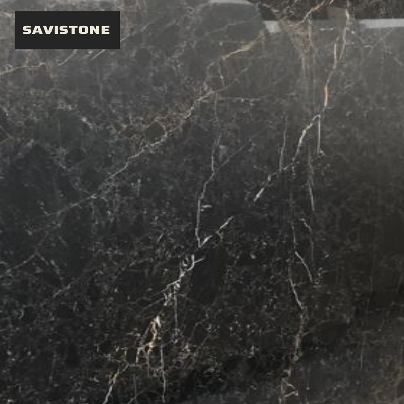 Wholesale Gold Black Granite