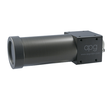 "APG 22C-AA Camera Enclosure Universal Arm, 4.2"" Barrel, Acrylic Window and Hirose Quick Disconnect - Machine Vision Direct"