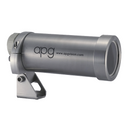 "APG 35C-AF Camera Enclosure with Universal Arm, Not Food Grade, NEMA4, IP65, 7.5"" Barrel Length, Glass Viewport, Air Curtain Face Plate, Not Air Cooled, Not Sealed - Machine Vision Direct"