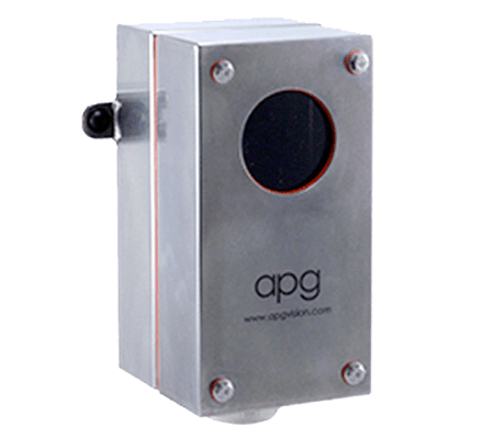 APG L10-AA Camera Enclosure with Matrox GT, PPT A10/A20 and NI Smart Camera Series Mounting Arm, Food Grade, NEMA4X, IP65, Acrylic Viewport, No Air Curtain Face Plate, Not Sealed, Not Insulated - Machine Vision Direct