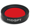 MidOpt BP635 Light Red Bandpass Filter - Machine Vision Direct