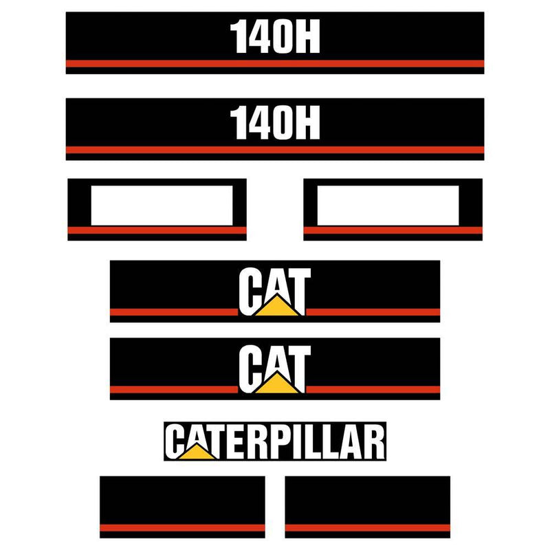 140H Decal Sticker Set