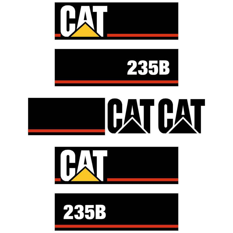 235B Decals Stickers