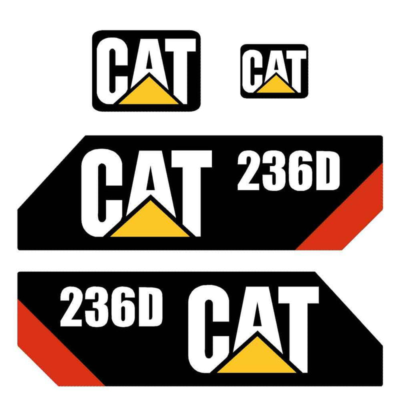 236D Decal Sticker Set
