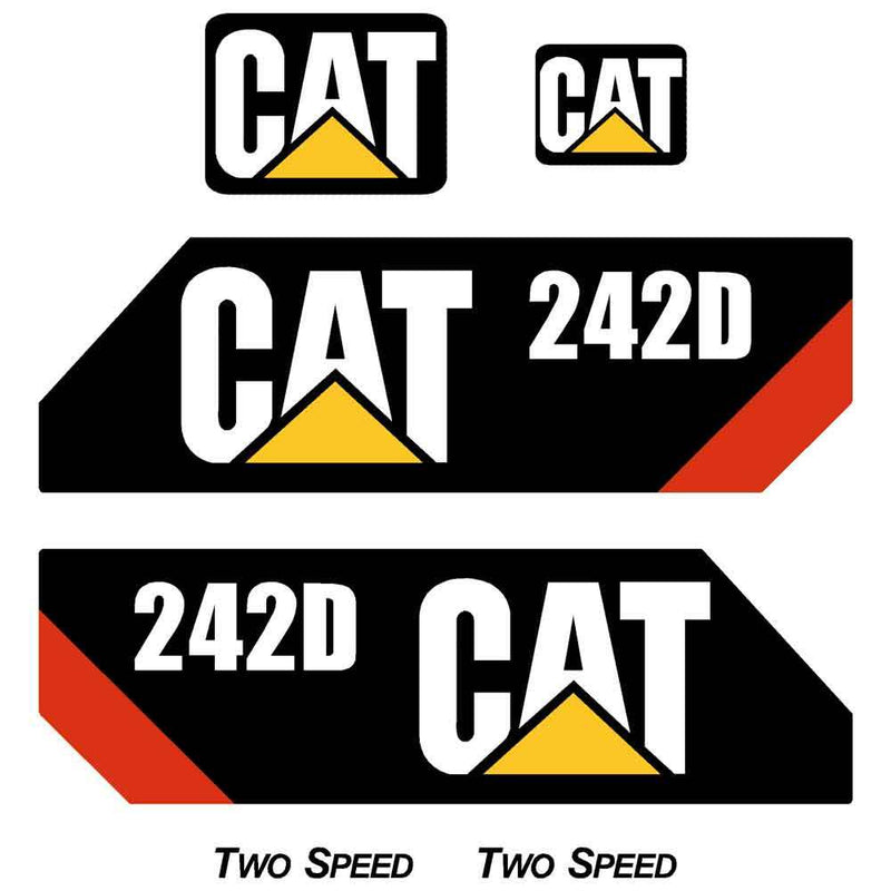 242D Decals Stickers