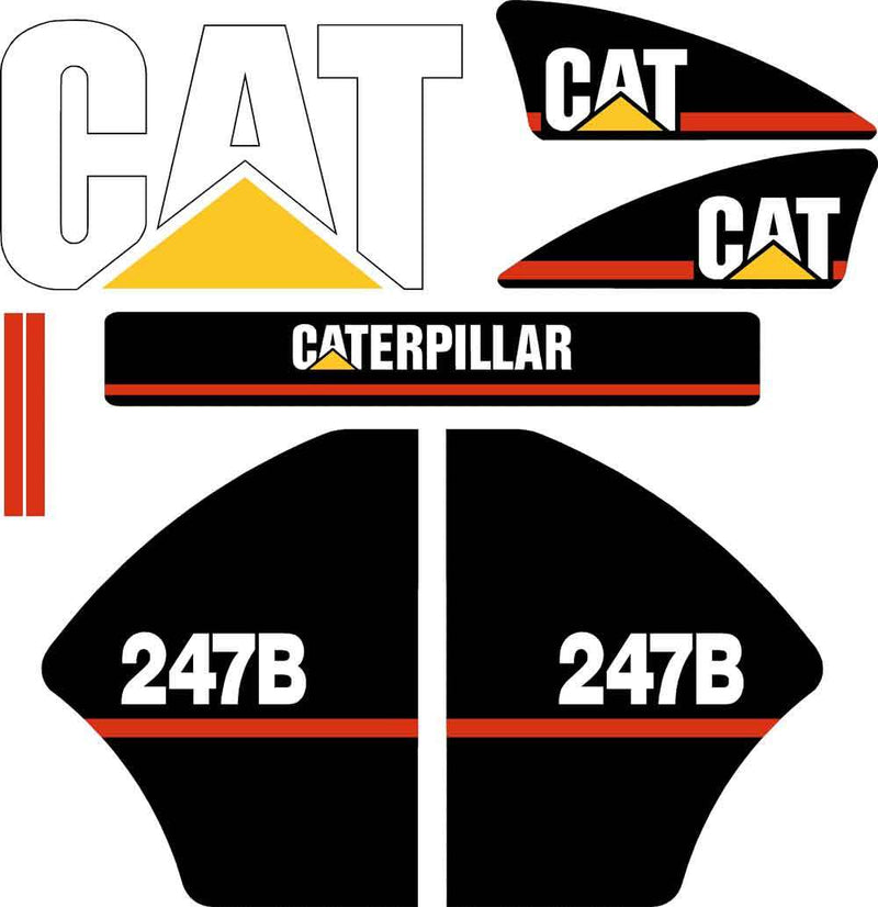 247B Decals Stickers