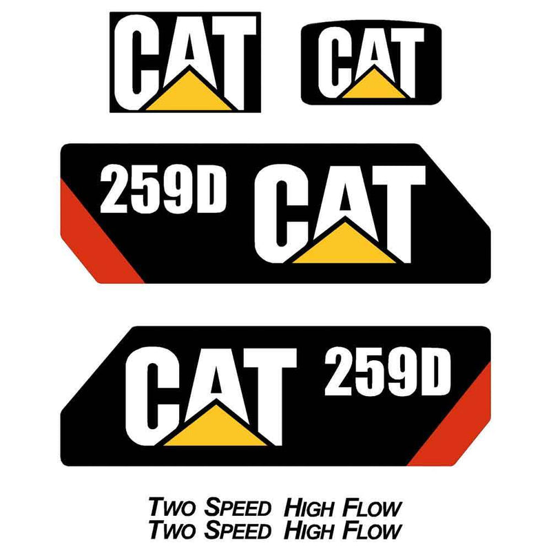 259D Decals Stickers