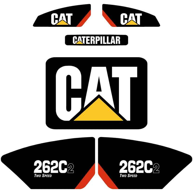 262C2 Decals Stickers