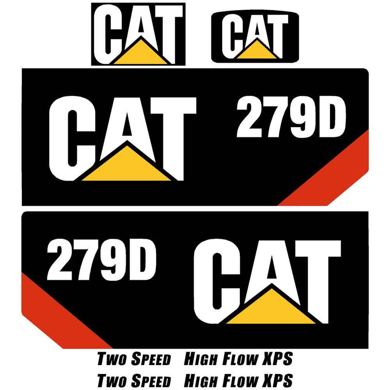 279D Decals Stickers