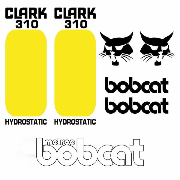 Bobcat 310 Decal Set