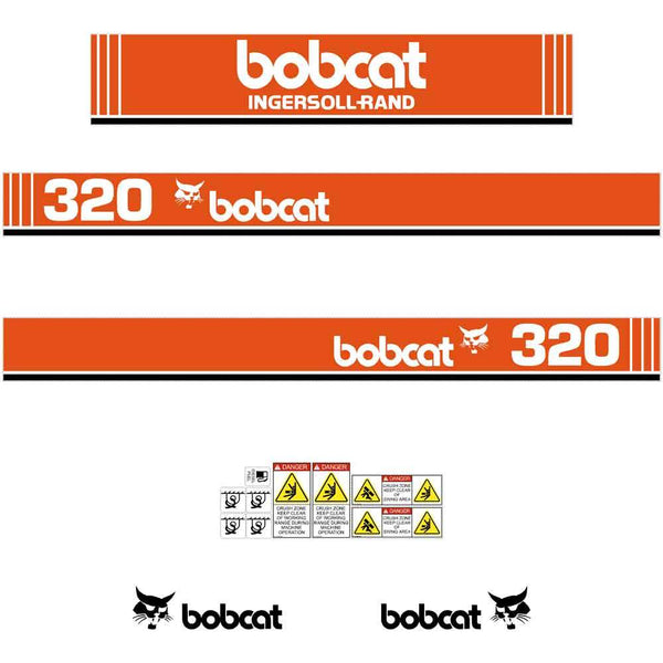 Bobcat 320 X Decals Stickers