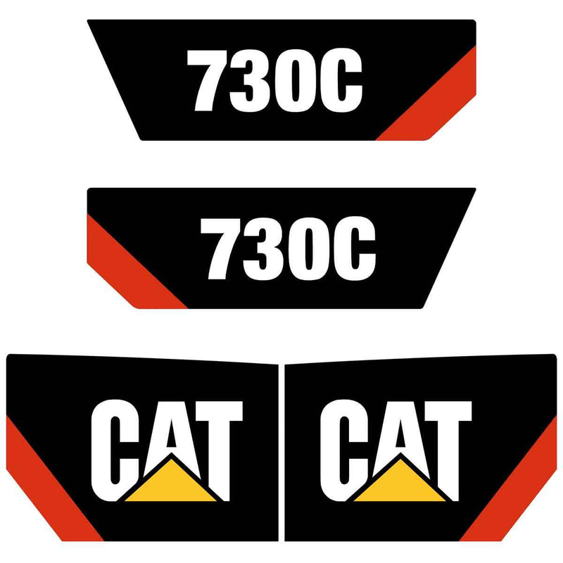 730C Decals Stickers