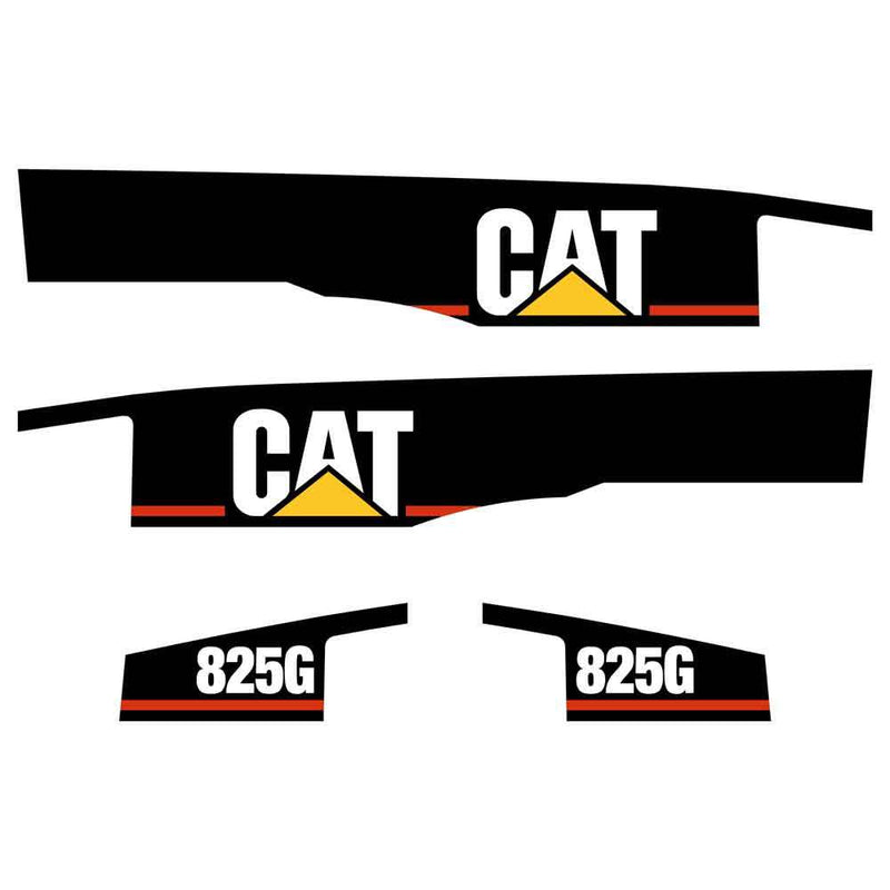 825G Decals Stickers