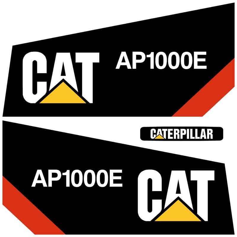 AP1000E Decals Stickers