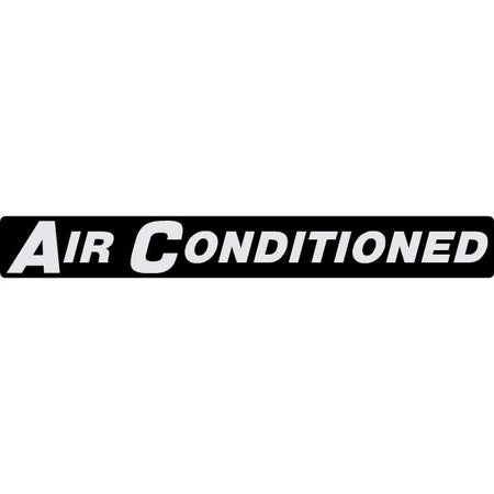 Air Conditioned Decal 6729077
