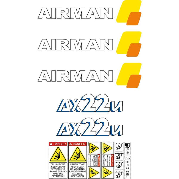 Airman AX22u-4 Decals
