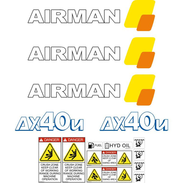 Airman AX40u-4 Decals