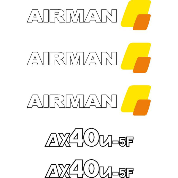 Airman AX40u-5F Decals