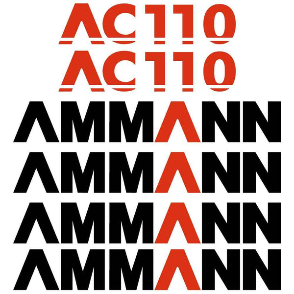 Ammann AC110 Decals Stickers