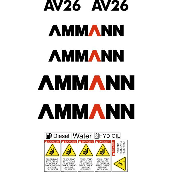Ammann AV26 Decals
