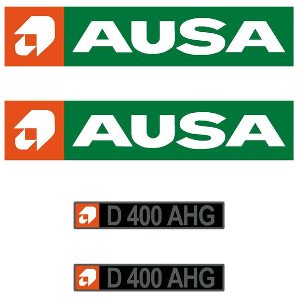 Ausa D400 AHG Decals