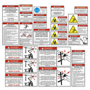 Bucket Truck - Truck Mounted Aerial Platform Safety Decals