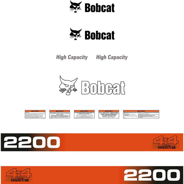 Bobcat 2200 Decals