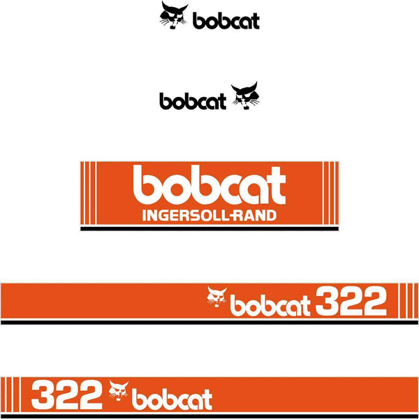 Bobcat 322 X Style Decals