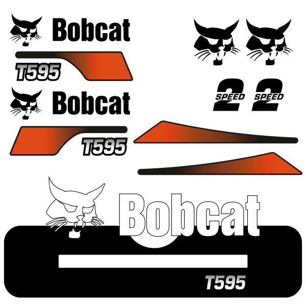 Bobcat T595 V2 Decals