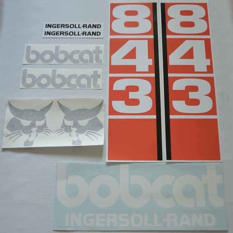 Bobcat 843 Decal Set