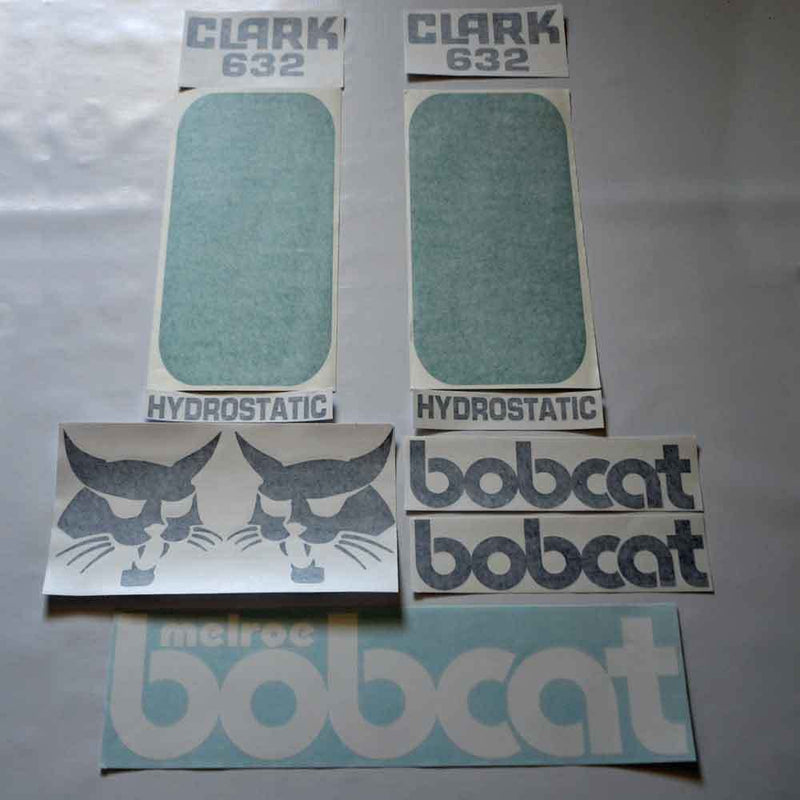 Bobcat 632 Decal Set
