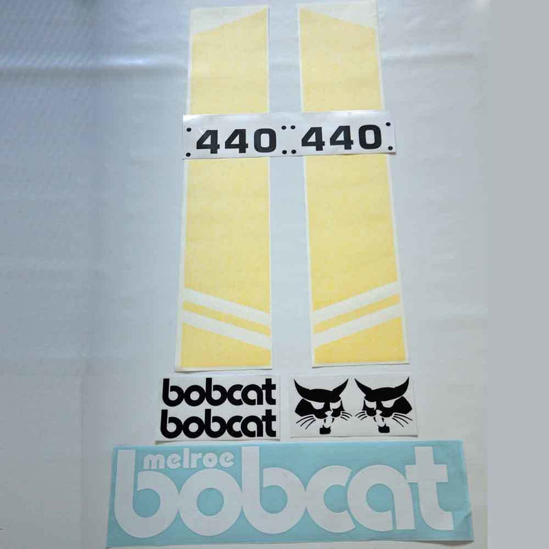 Bobcat 440 Decal Set