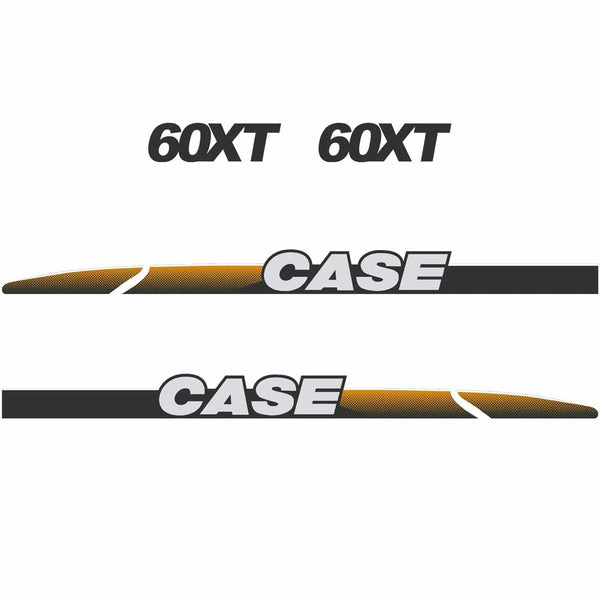 Case 60XT Decal Sticker Set