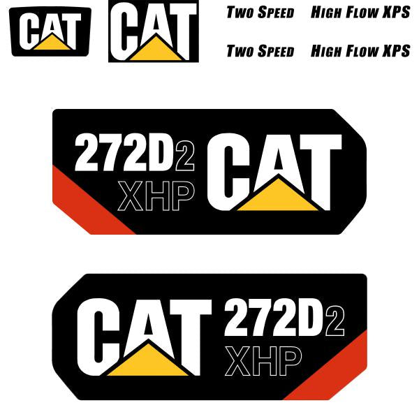 CAT 272D2 XHP Decals