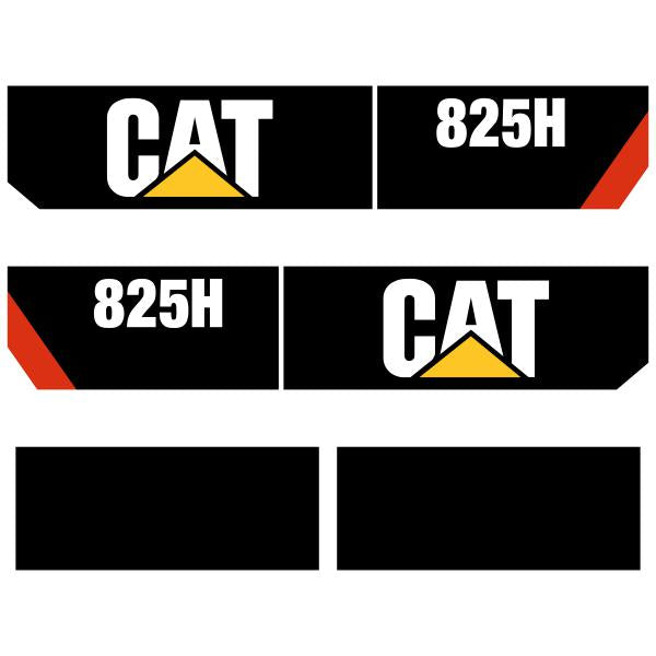 CAT 825H - Later Style Decals