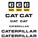 CAT 966C Decals