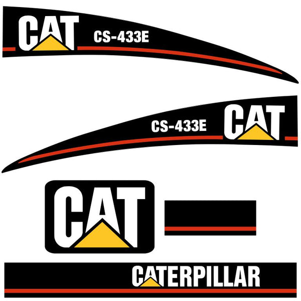 CAT CS433E Decals