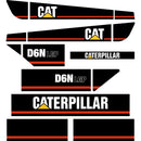 CAT D6N LGP Decals - AKN Series